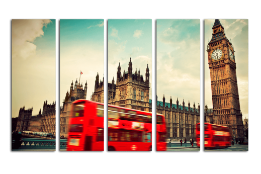 Модульная картина В Лондоне