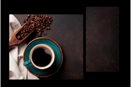 Модульная картина Крепкий кофе